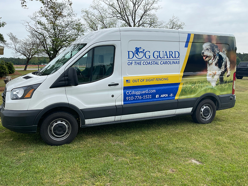 Dog Guard Van